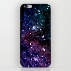 a spin on space iPhone & iPod Skin