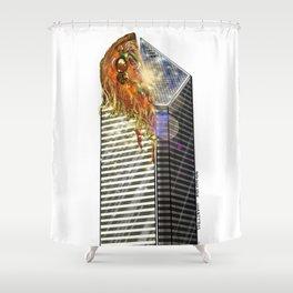 DEEP DEEP DISH Shower Curtain
