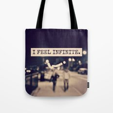 I Feel Infinite Tote Bag