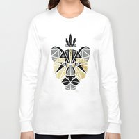 lion king Long Sleeve T-shirts featuring lion king by Manoou