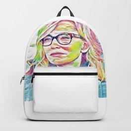Cate Blanchett (Creative Illustration Art) Backpack
