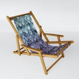 MAGIC MERMAID - MYSTIC TEAL-PURPLE Sling Chair