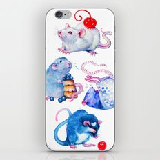 Sweet Rats iPhone & iPod Skin