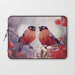 Bullfinch Love Laptop Sleeve