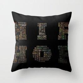 HIP HOP Throw Pillow