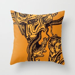 Choronzon Throw Pillow