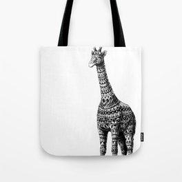 Ornate Giraffe Tote Bag