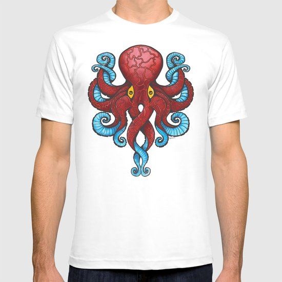 Red Dectopus T-shirt