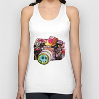 fireworks Tank Tops featuring Picture This by Bianca Green