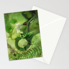 COLOR SERIES - GREEN Stationery Cards