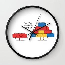 positive blocks... Wall Clock