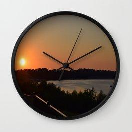 Kentucky Skies Wall Clock