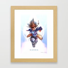K O R R A Framed Art Print
