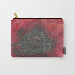 Heart of the Poppy by Candy Medusa Carry-All Pouch