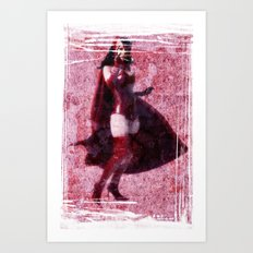 Classic Scarlet Witch (Avengers) Art Print