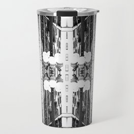 Double Vision from Michigan Avenue, Chicago Travel Mug