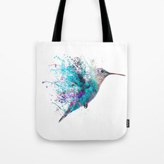 HUMMING BIRD SPLASH Tote Bag