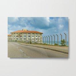 Waterfront Elegant Hotel Natal Brazil Metal Print