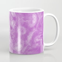 wreck exploding from fracture purple fractal Coffee Mug