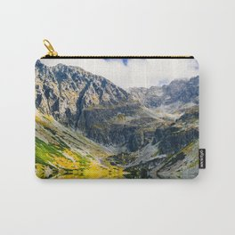 Tatry Poland Mountain Lake Reflections Carry-All Pouch