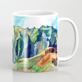 Kauai's Na Pali Coast Coffee Mug