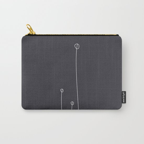 Abstract #Minimal #Nature Carry-All Pouch