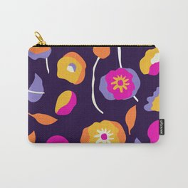 Abstract Dancing Poppies Carry-All Pouch