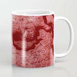 Russia in Red Coffee Mug