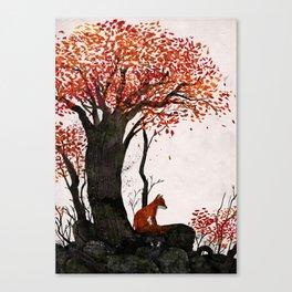 Fantastic Mr. Fox Doesn't Feel So Fantastic Anymore Canvas Print