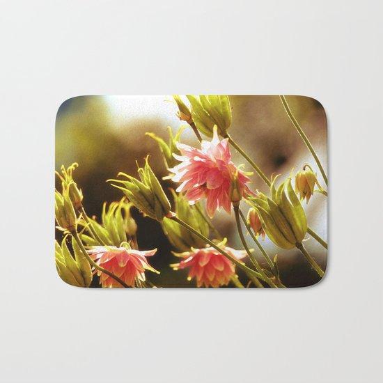 Wild beauty, flowers in the meadows Bath Mat