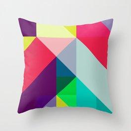 Minimal/Maximal Throw Pillow
