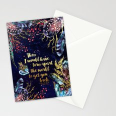 ACOMAF - Torn Apart The World Stationery Cards