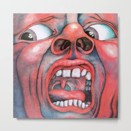 In the Court of the Crimson King Metal Print