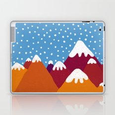 Colorful Snowy Mountains Laptop & iPad Skin