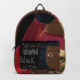 Black Culture Matters African Art Backpack