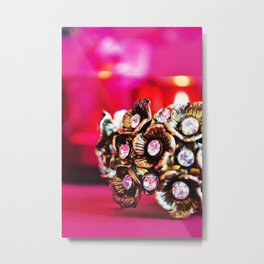 Burnished cluster Metal Print