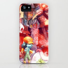 Spaceport Janitor iPhone Case