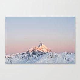Mt Aspiring, Wanaka, New Zealand Canvas Print
