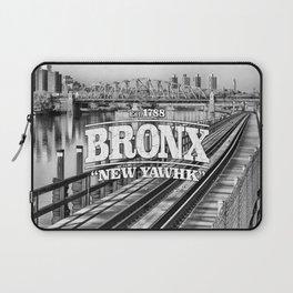 Bronx New York 'New Yawhk' Est. 1788 Laptop Sleeve