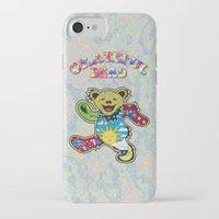 grateful dead iPhone & iPod Cases featuring Grateful Dead (Vector Art) by Troy Arthur Graphics