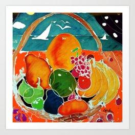 Fruit Bounty Australia           by Kay Lipton Art Print