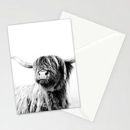 HIGHLAND CATTLE FRIDA Stationery Cards