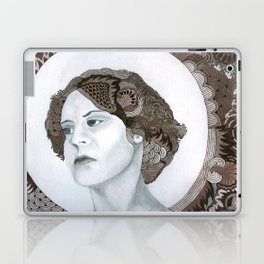 Haloed Lady For Sale!!! Laptop & iPad Skin