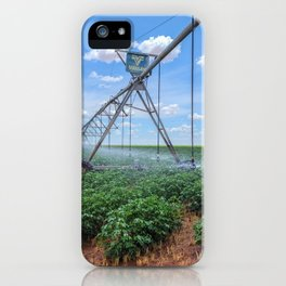 Agriculture Pivot irrigation  iPhone Case