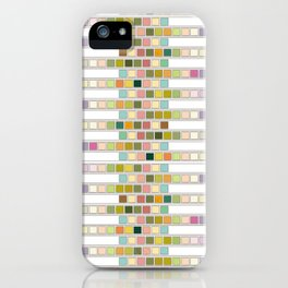 Urine Dipstick Art iPhone Case