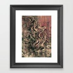 Tempest III (sandstorm) Framed Art Print