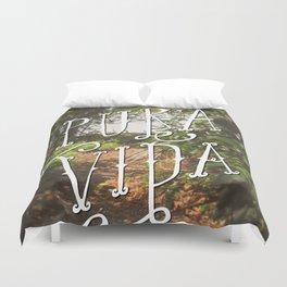 Pura Vida Costa Rica Jungle Life Caribbean Type Duvet Cover