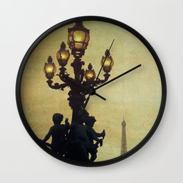 Paris (France) Wall Clock