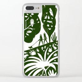 Nature Cam Clear iPhone Case