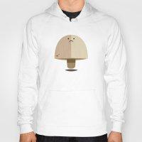 mushroom Hoodies featuring Mushroom by Mister Linus